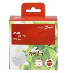 DANFOSS sada termostatická pro podl. vytápění, 003L1080, DN 15, přímá