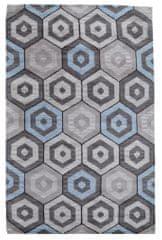 Kudos Textiles Ručně všívaný vlněný koberec DOO-20