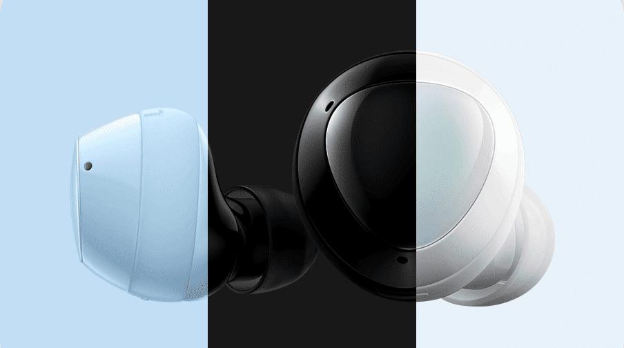 Bluetooth sluchátka Samsung Galaxy Buds plus, černá (SM-R175NZKAEUB) ovládání sluchátek touchpad poklepání