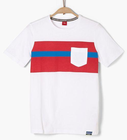 s.Oliver detské tričko, S, sivá