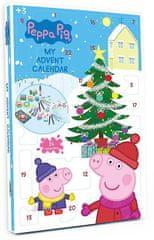 Kalendarz adwentowy Świnka Peppa