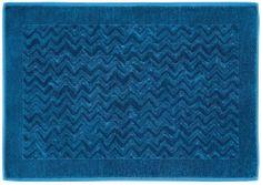 Missoni Home REX fürdőszoba szőnyeg 60 x 90 cm kék