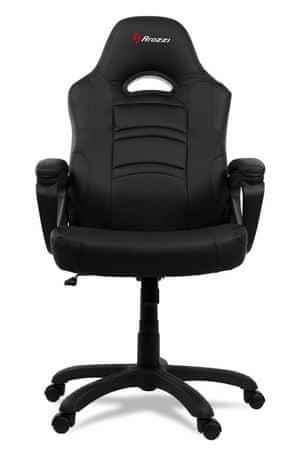 Arozzi Enzo gaming stol, črn