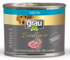Grau Excellence psi, teletina, bez žitarica, 6x 200 g