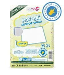 MonPeri absorpční podložky L (60x90cm) 25ks