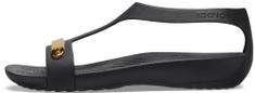 Crocs dámske sandále Serena Metallic Bar Sandal W (206420-751)