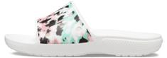 Crocs dámské pantofle Classic Crocs Tie-Dye Mania Slide (206481-928)