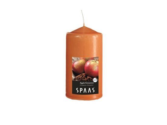 Vonná svíčka válec 8x15cm skořice