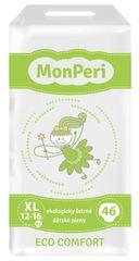 MonPeri jednorázové pleny ECO comfort XL (12-16 kg) 46ks