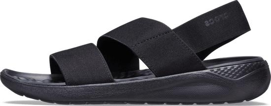 Crocs dámske sandále LiteRide Stretch Sandal W (206081) 36/37 čierna