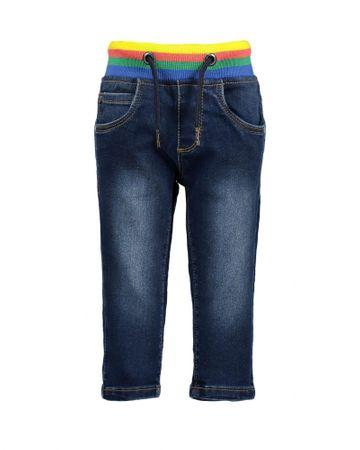 Blue Seven jeansy dziecięce 68 ciemnoniebieskie