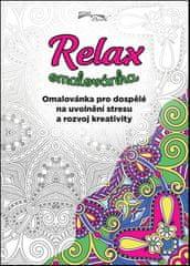 Relax omalovánka - Omalovánka pro dospělé na uvolnění stresu a rozvoj kreativity