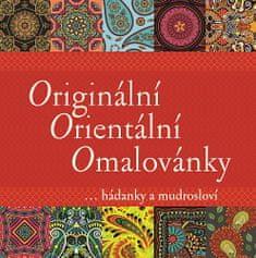 Originální Orientální Omalovánky - ... hádanky a mudrosloví
