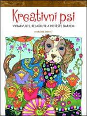 Marjorie Sarnat: Kreativní psi - Vybarvujte, relaxujte a potěšte dárkem