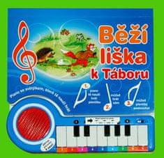 Běží liška k Táboru - Piano se světýlky, které tě naučí hrát