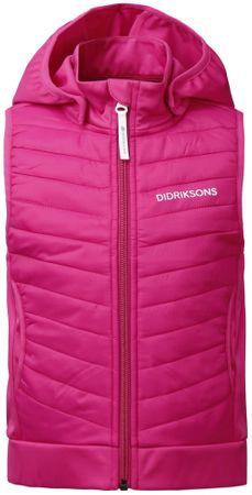 Didriksons1913 dekliški brezrokavnik D1913 DAGGET, 110, roza