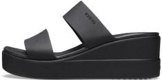 Crocs dámské pantofle Brooklyn Mid Wedge W (206219-060)