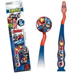Firefly Avengers, zubná kefka, modrá, od 3r+
