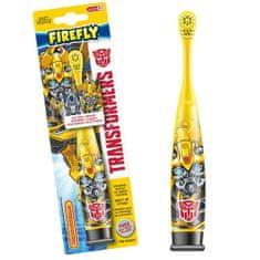 Firefly Transformers Turbo Max, elektrická zubná kefka, žltá, 6r+