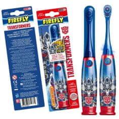 Firefly Transformers, Light a Sound, svítící a mluvící zubní kartáček, modrá, 3r +
