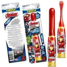 Firefly Avengers - Iron Man, Light a Sound, svítící a mluvící zubní kartáček, 3r +