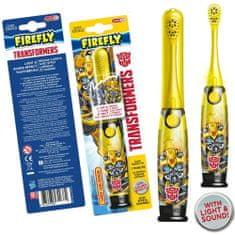 Firefly Transformers, Light a Sound, svítící a mluvící zubní kartáček, žlutá, 3r +