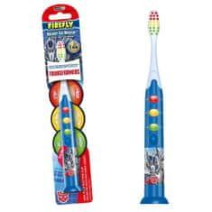 Firefly Svítící zubní kartáček Transformers, modrá, od 3r +