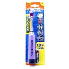 Firefly Junior Turbo Power, elektrická zubná kefka, fialová, 7r+