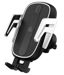 USAMS CD100 Automatic Touch Držiak do Auta vr. bezdrôtového bobíjania (EÚ Blister) (CD100ZJ01)