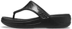 Crocs Monterey Metallic Wedge Flip (206303-0GQ) ženske japanke