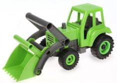 LENA Eco aktivní traktor - Zelená