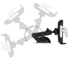 USAMS CD101 Automatic Touch Držiak do Auta vr. bezdrôtového dobíjania (EÚ Blister) (CD101ZJ01)
