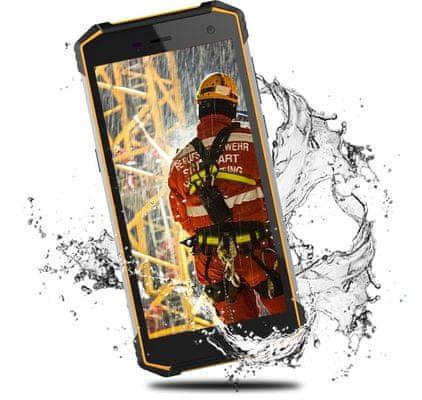myPhone Hammer Energy 2 , velká baterie, rychlé nabíjení, dlouhá výdrž na jedno nabití, reverzní dobíjení, fukce power banky