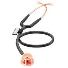 MDF 777 MD ONE Stetoskop pre internú medicínu, ružové zlato/čierny