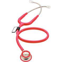 MDF 777 MD ONE Stetoskop pro interní medicínu, červený (MDF23)
