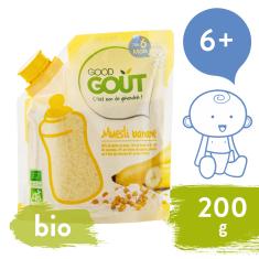 Good Gout BIO Dětská banánová instantní kaše v prášku 200 g