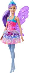 Mattel lalka Barbie Magiczna Wróżka - Fioletowe skrzydła