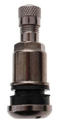 FERDUS Bezdušový ventil TR525 MS, černý nikl, otvor v disku 11,5 mm, délka ventilu 42 mm - 100 ks