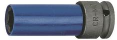 """Jonnesway Nástrčná hlavice 1/2"""" s krytkou na ALU, pro rázové utahováky, 17 mm - JONNESWAY S18A4117"""