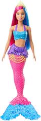 Mattel lalka Barbie Magiczna Syrenka - różowo-niebieskie włosy