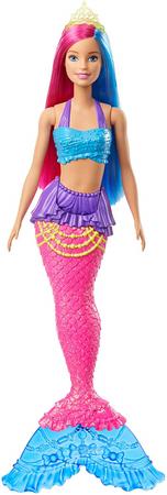 Mattel Barbie Varázslatos tengeri tündér rózsaszín-kék hajjal