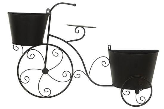 Dalenor Kovová dekorácia Bicycle, 75 cm, čierna