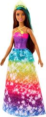 Mattel Barbie Varázslatos hercegnő szivárvány színben