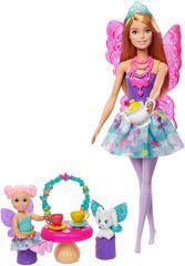Mattel lalka Barbie - zestaw z wróżkami i skrzydłami