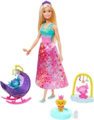 Mattel lalka Barbie - zestaw z Księżniczką i długą suknią