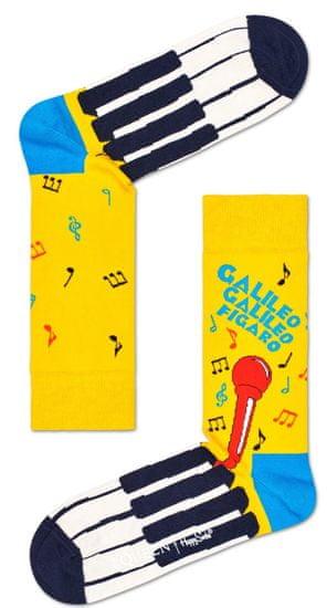 Happy Socks unisex ponožky Bohemian Rhapsody Sock QUE01-2000 36 - 40 žlutá