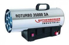 ROTHENBERGER Dílenské topidlo plynové, přenosné, 18 - 34 kW - Rothenberger ROTURBO 35000SA