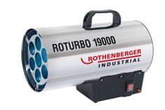 ROTHENBERGER Dílenské topidlo plynové, přenosné, 16 - 18 kW - Rothenberger ROTURBO 19000 18kW