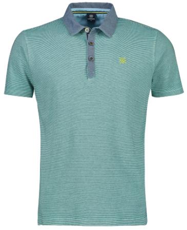 Lerros férfi ingpóló 2023207, M, zöld