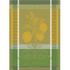 Garnier Thiebaut CITRON Zeste Utěrka 56 x 77 cm